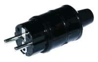 HiFi-Tuning schuko Heavy II Rhodium