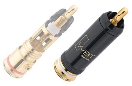WBT-0102 Cu Nextgen™ RCA connector per stuk