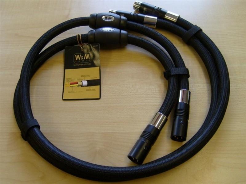 W & M Audio BC-01 Balanced XLR audio interconnect