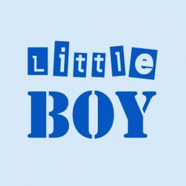 Baby t-shirt baby blauw | Little boy