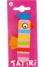 Tatiri houten letters / dierenalfabet - I (roze)