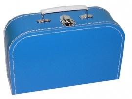 Kinderkoffertje blauw