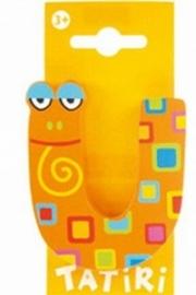 Tatiri houten letters / dierenalfabet - U (oranje) (niet meer leverbaar)