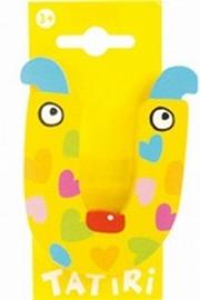 Tatiri houten letters / dierenalfabet - U (geel)