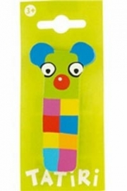 Tatiri houten letters / dierenalfabet - I (groen)