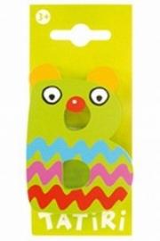 Tatiri houten letters / dierenalfabet - B (groen)