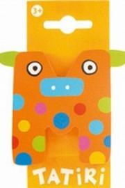 Tatiri houten letters / dierenalfabet - M (oranje) (niet meer leverbaar)
