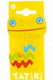 Tatiri houten letters / dierenalfabet - J (geel)