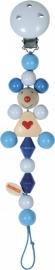 Heimess speenkoord muis blauw