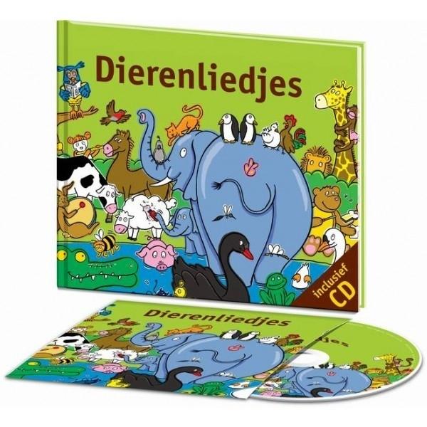 Dierenliedjes met CD - Liedjesboeken