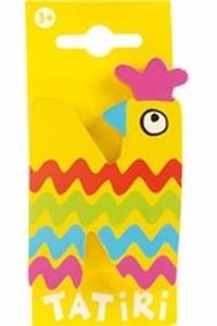 Tatiri houten letters / dierenalfabet - N (geel)