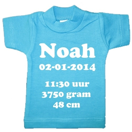 Mini T-shirt standaard
