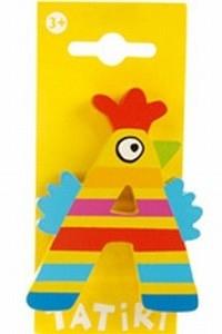 Tatiri houten letters / dierenalfabet - A (geel)