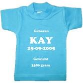 Mini geboorte T-shirt