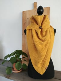 Sjaal Triangle Yellow