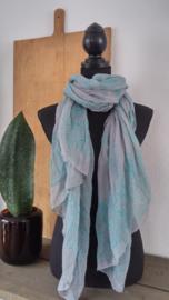 Sjaal Groen-Grijs