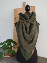Sjaal Triangle Groen
