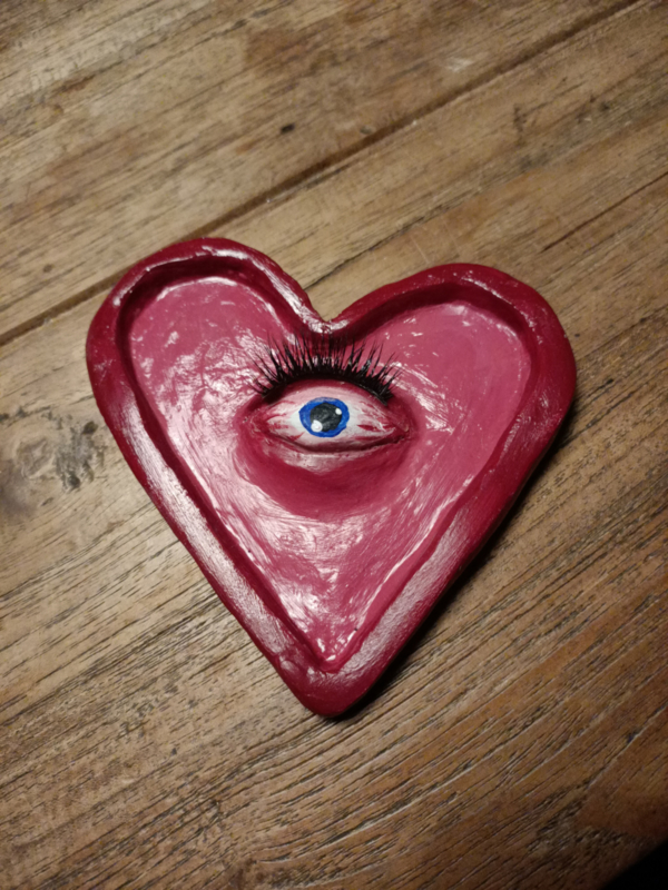 One of a kind Red Heart