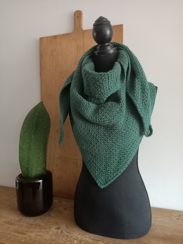 Sjaal Triangle Licht Groen