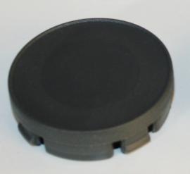 Set van 4 grijze naafdoppen van buitenmaat 58 mm en klemmaat 55,5 mm