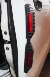 Set van twee dubbele reflectors voor autoportieren