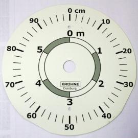 KROHNE BM 51 wijzerplaat 0... 6m