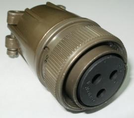 3 Polige MIL-spec connector