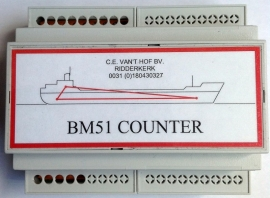 BM51 Counter (1 t/m 12 tanks)