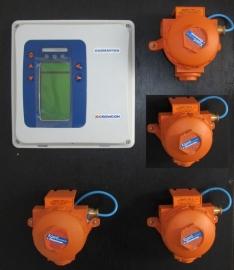Crowcon Gasmaster II + 4  sensoren Xgard type 5