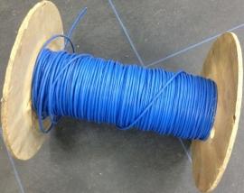 kabel blauw 2x2x0,5m²