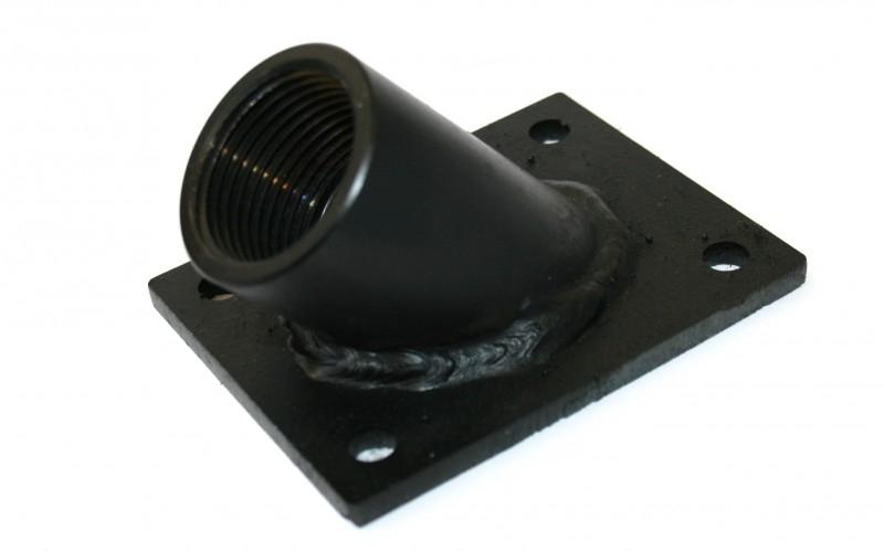 """montageplaat 1"""" BSP, 45° (schuin)"""