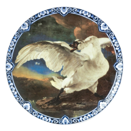 Bord De bedreigde zwaan