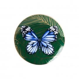 Wandbord Vlinder 15 cm