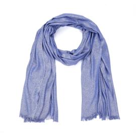 Sjaal rechthoek Sparkle Blue