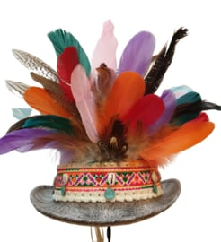 Opgemaakte hoed IBIZA Multi