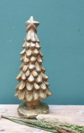 Kerstboom goud 23 cm