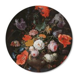 Muurcirkel Bloemen 50 cm