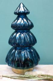 Kerstboom met verlichting L Blauw