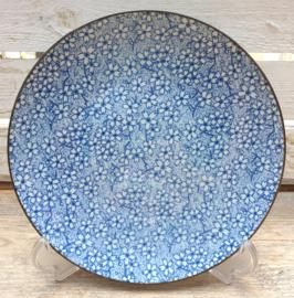 Ontbijt bord Royal Blue Lily