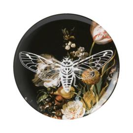 Wandbord Nachtvlinder 26 cm