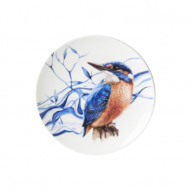 Wandbord Ijsvogel 15 cm