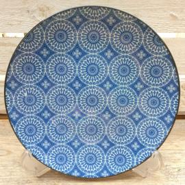 Ontbijt bord Royal Blue Circle