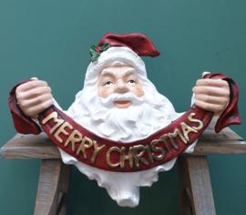 Kerstman kransdrager