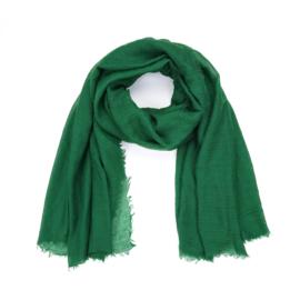Dunne Sjaal rechthoek Groen