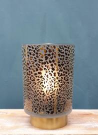 Tafellamp Led Leopard Donkergrijs