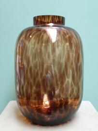 XL Vaas Cheetah Bruin 35 cm