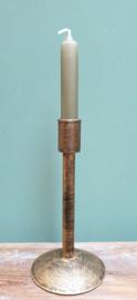 Kandelaar Oudgoud metaal 20 cm