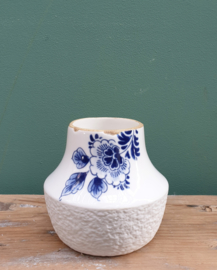 Vaasje Delfts Blauw bloesem 10 x 10,5 cm
