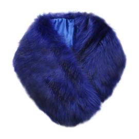 Bontkraag blauw