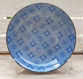 Diep bord Royal Blue Circle